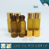 5ml Amber Essential Oil Glass Bottle 5ml Glass Vials