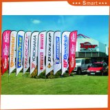 High Volume Customized Dye Sublimation Advertising Flag with Great Price