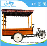 Food Tricycle Ice Cream Coffee Bike Electric Tricycle Coffee Food with Heat Protection Freezer