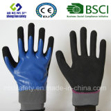 Latex Frosted Gloves, Sandy Finish Safety Work Gloves (SL-RS308)