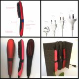Electric Iron Comb with LCD Hairstyling Brush