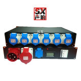 3 Phase Cee Socket Panel with 7 Way Outlet