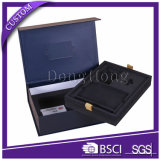 Luxury Rigid Corporate Gift Sets Box Packaging with EVA Foams
