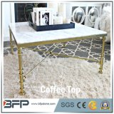 Good Price Square Marble Dinner Coffee Tables for Sale
