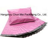Custom Waterproof Pink Plastic Bag for Packing