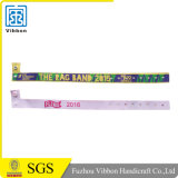 Woven Wristband Fabric Braclete with Logo (VB161)