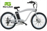 Men Beach Cruiser 250W Hub Motor Electric Bike