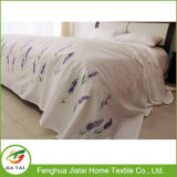 Hand Embroidered Bed Sheet Cotton King Size Bed Sheet