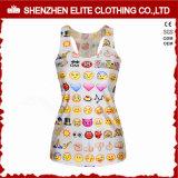 Wholesale Custom Fashionable Fitness Tank Tops for Women (ELTVI-54)