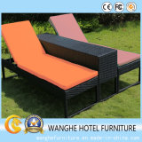 Synthetic Rattan Outdoor Garden Furniture Cornor Lounge Chaise
