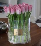 Round Flower Box Packaging Rose Acrylic Flower Box, Tulip Box