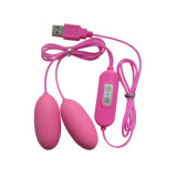 USB Rechargeable 10 Speed Control Vibrating Eggs Cheap Love Egg