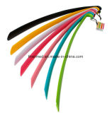Colorful Smooth Plastic Long Handled Shoehorn