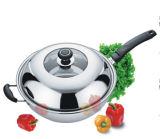 High Quality Stainless Steel Wok