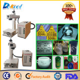 20W 100*100mm 200*200mm Fiber Laser Marking Arts/Plastic/Bottle/Aluminum Machine