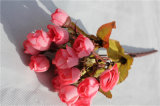 High Quality Handmade Artificial Mini Rose Flowers for Home Decoration