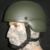 Adjustable Length NIJ 0106.01 IIIA Kevlar Bulletproof Ballistic Helmet