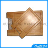 Square Maple Wood Cutting Board with Handle