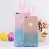 Rainbow Rabbit Clear Case for iPhone 6 / 6plus