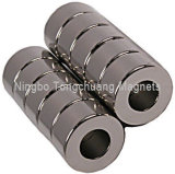 Strong Ring Magnets with Nicuni Plating