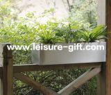 Fo-9012 Stainless Steel Rectangular Window Garden Planter