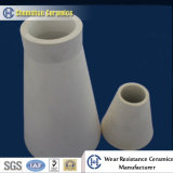 Abrasion Resistant Alumina Ceramic Pipe Cone as Cyclone Liner