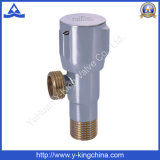 Brass Basin Angle Valve for Heating Producer (YD-5005)
