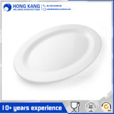 Durable Use Unicolor Dinner Plastic Melamine Round Plate