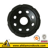 High Quality Single Row Diamond Grinding Cup Wheel (HCPS)