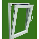 Argon Gas Single Pane PVC Glass Window for American Market