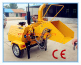 Mobile Diesel Engine Wood Chipper with CE Certificate, 40HP Auto Hydraulic Feed