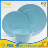 SGS Factory Melamine Plastic Bowl Dinnerware Dinner Plate Sets