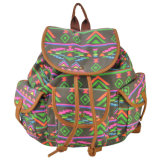 Attractive Flower Printed Promotinal Cheap Backpack
