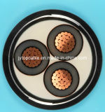 High Voltage Copper Conductor Armored Power Cable with XLPE Insulated