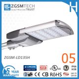 IP66 Ik10 135W LED Street Lighting with UL Dlc Approved