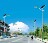 Road Lighting Solar Power Pole with 60W LED Lights