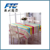 Colorful Pattern Printed Housing Table Cloth