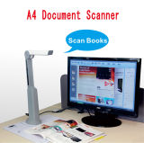 High Speed A4 Document & 3D Object Hand Scanner