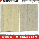 PVDF Marble Pattern Aluminum Composite Wall Cladding