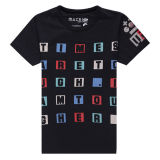 Fashion Boy Full Printing 100 Cotton Crew Neck T Shirt