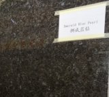 Laying/Riven Garden/Museo/Paving/Patio Emerald Blue Pearl Granite Floor Tile