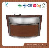 "Wooden Reception Desk with 19.75"" Interior Work Surface"