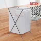 Oxford Fabric Laundry Basket with Legs Dirty Clothes Storage Bag