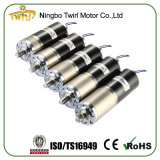 China Supplier High Torque 12volt 24V 52mm Geared Motor