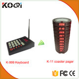 999 Channel Restaurant Pager Wireless Paging Queuing Calling System