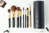 8 PCS Makeup Foundation Synthetic Hair Brush with PU Cylinder