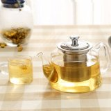 1200ml Glass Tea Pots/ Teapots with Stainless Steel Infuser