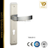 Door Hardware Lock Furniture Handle with Plate (7008-Z6122)
