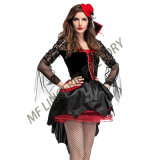 Sexy Onen Vampire Costume Gothic Cosplay Halloween Outfits