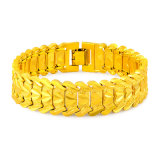 Facotry Wholesales 18-24K Gold Plating Hollow Bracelet of Lfb03